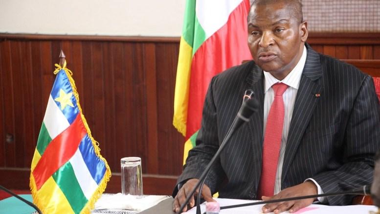 Faustin-Archange Touadéra, Président de la Centrafrique