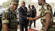 Le Général Dogbo Blé et Laurent Gbagbo