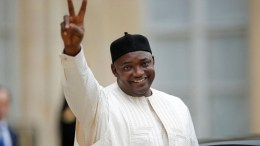 Adama Barrow vainqueur