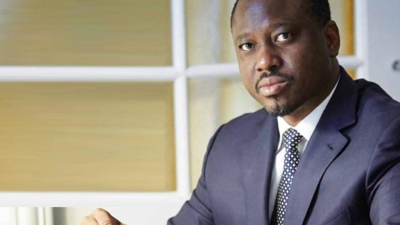 Guillaume Soro, le président de l'Assemblée nationale