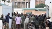 Les militaires à Bouaké