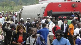 accident de train au Cameroun