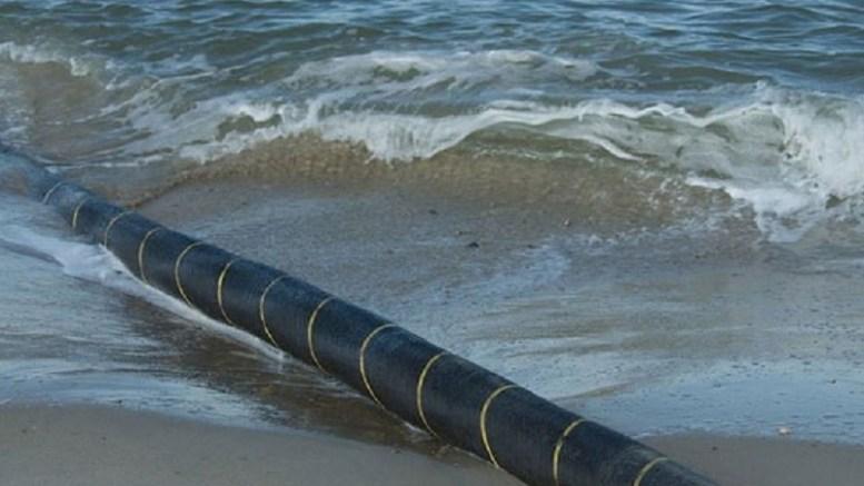 un câble sous-marin