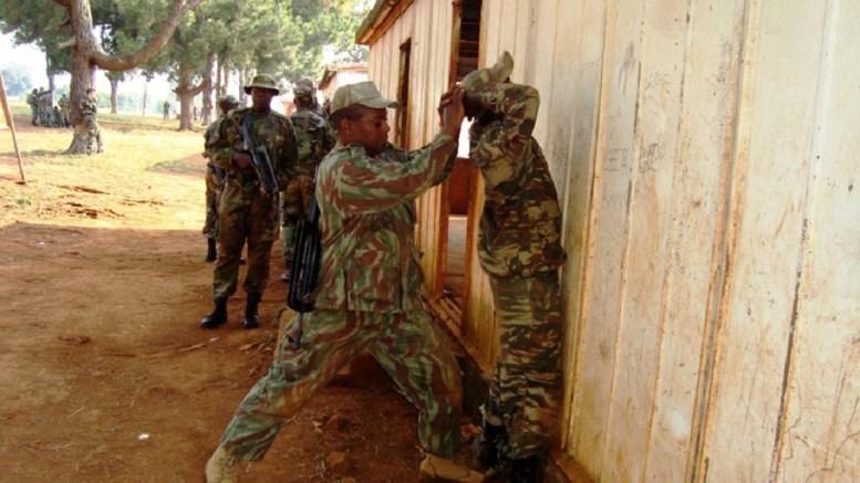Les militaires camerounais