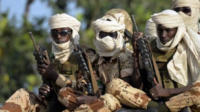 Les troupes tchadiennes
