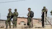 Les soldats au Lesotho