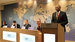 Tony Elumelu à Chatham
