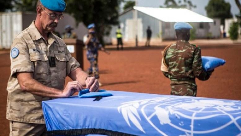 casques bleus néerlandais au Mali