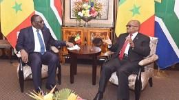 Jacob Zuma parle du Sénégal