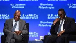 Macky Sall au forum sud-africain