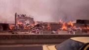 incendie pikine senelec