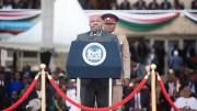 Ali Bongo Ondimba à l'investiture de Uhuru Kenyatta