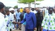 Brice Laccruche Alihanga accueilli à Franceville