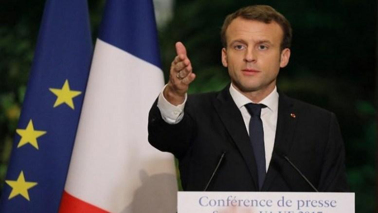Emmanuel Macron à Abidjan