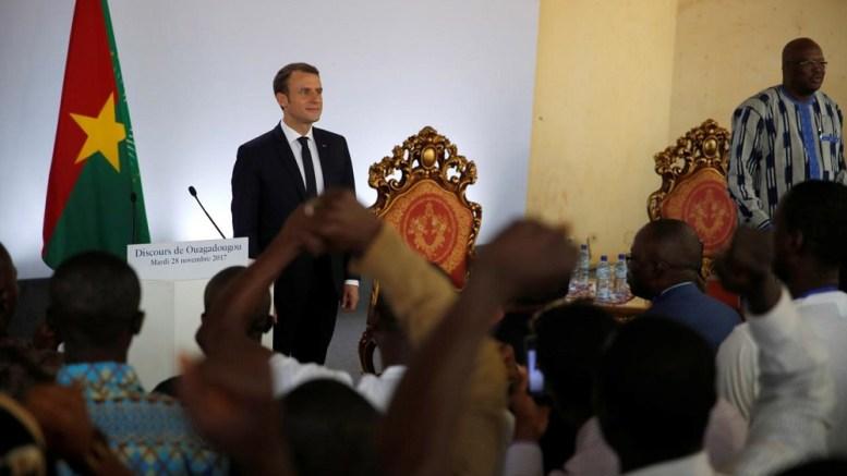 Emmanuel Macron à Ouagadougou (esclavage)