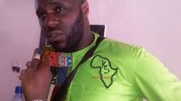 Kemi Seba à Cotonou