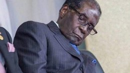 Robert Mugabe dort