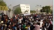 Marche de l'opposition à Niamey