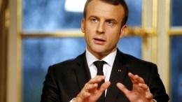 Emmanuel Macron, le président français
