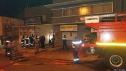 Incendie au siège de la Poste gabonaise
