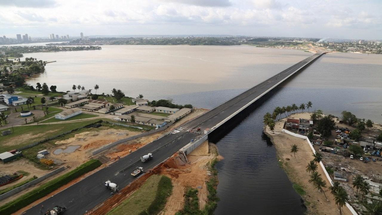 Année 2018 lancement du 4ème pont dabidjan africtelegraph toute lactualité africaine