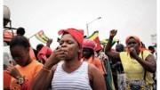 Les femmes togolaises dans la rue