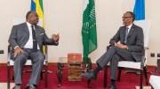 Ali Bongo Ondimba au Rwanda