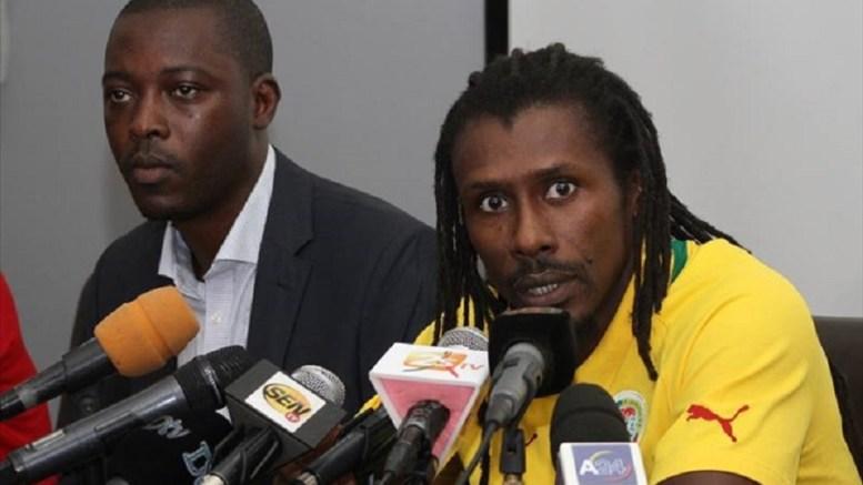 Aliou Cisse, l'entraineur des Lions du Sénégal