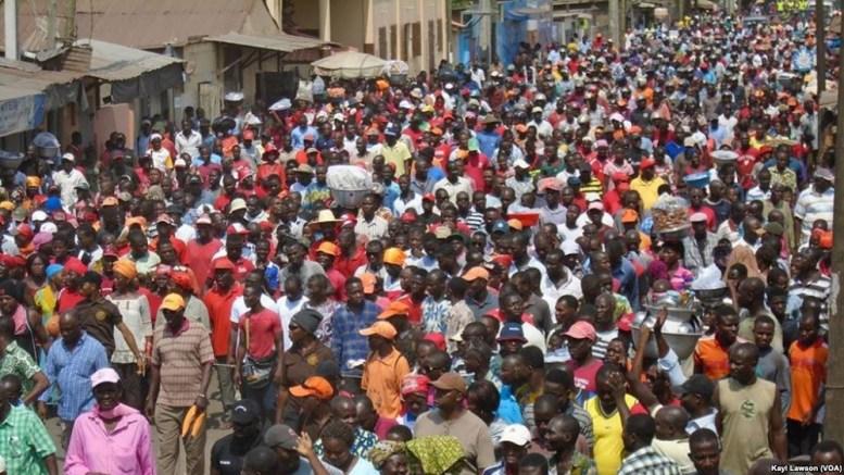 Manifestations au Togo