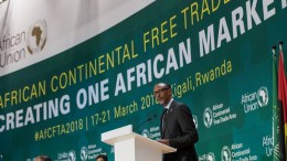 Paul Kagame au sommet de l'UA à Kigali