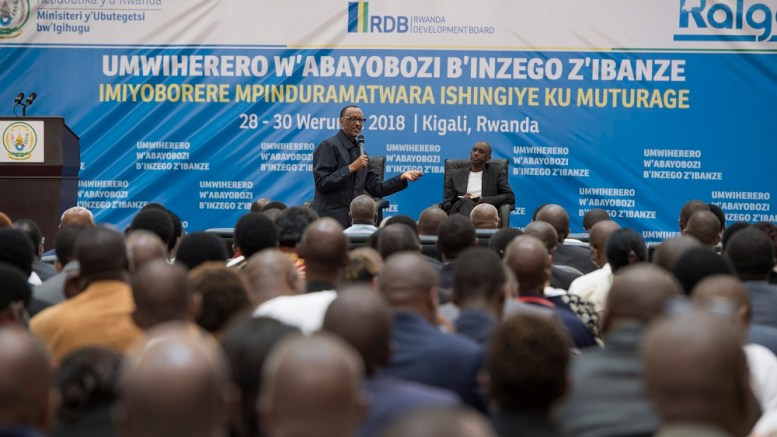 Paul Kagame charge