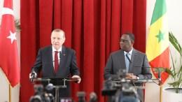 Recep Tayyip Erdogan et Macky Sall