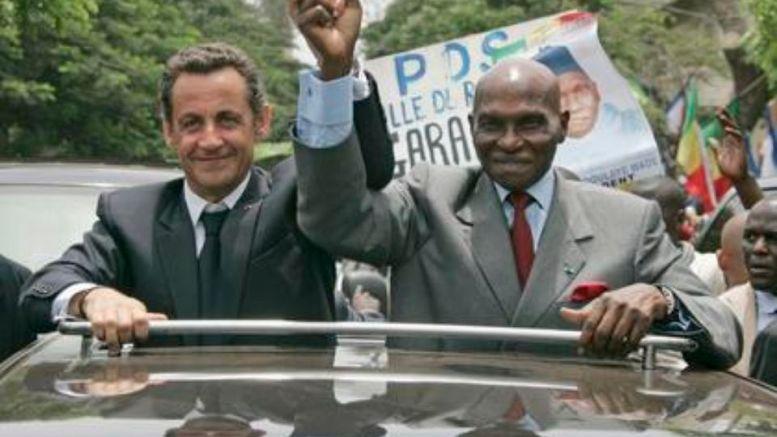 Sarkozy et Wade