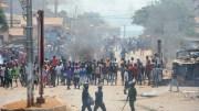 manifestation des politiques en Guinée