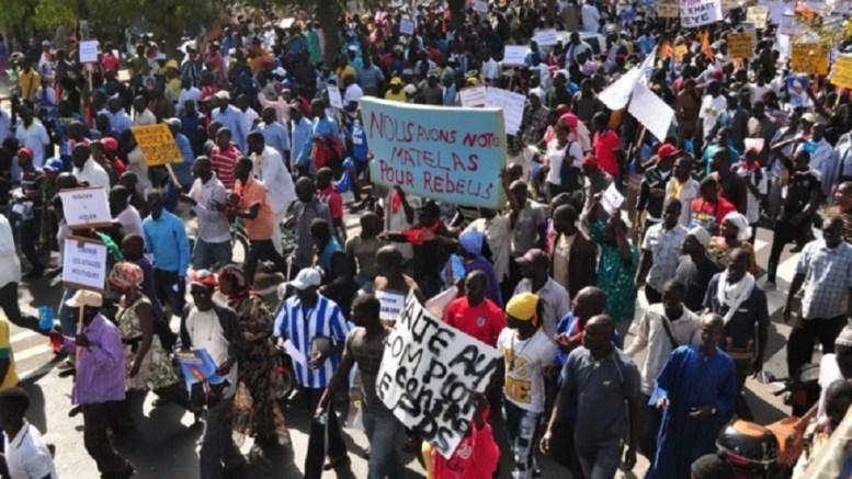 L'Opposition à la place Soweto