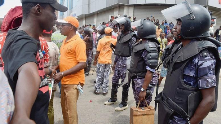 L'Opposition togolaise dans la rue