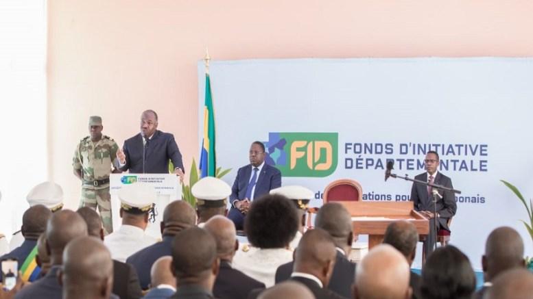 Le président Ali Bongo lance le FID à Franceville