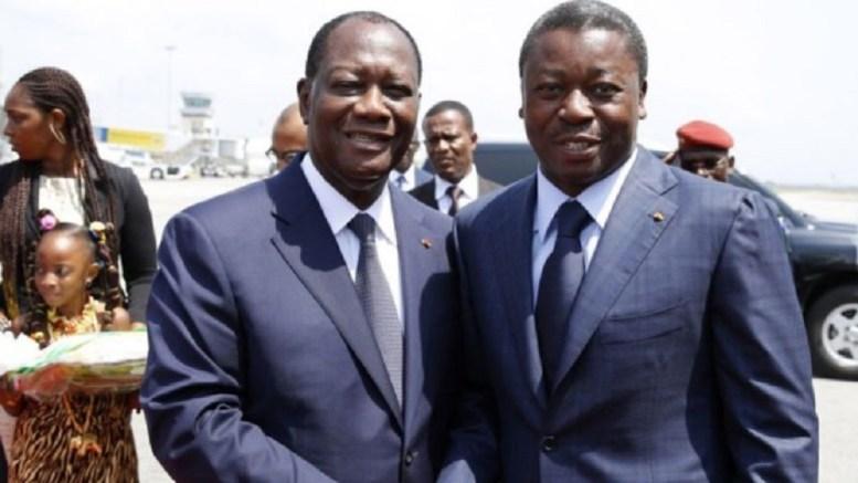 Ouattara et Faure Gnassingbé