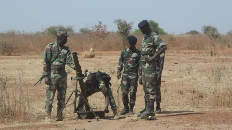 Déserte d'un militaire au Sénégal