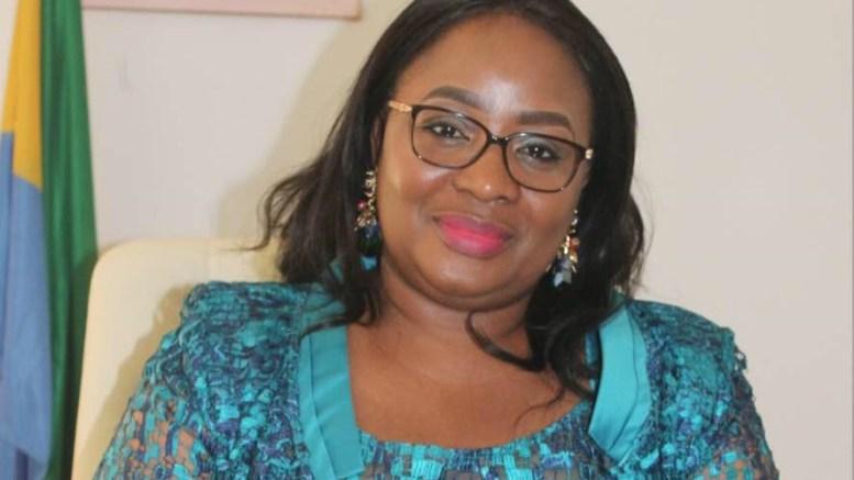 Estelle Ondo, ministre de l'égalité des chances