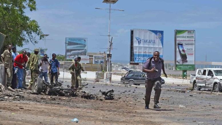 Les journalistes en Somalie