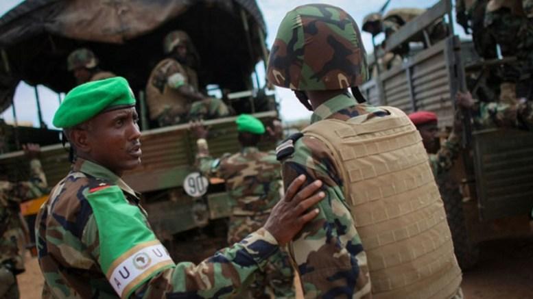 Les militaires de l'Amisom