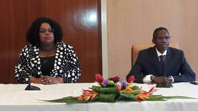 Patricia Taye présentée au Ministère