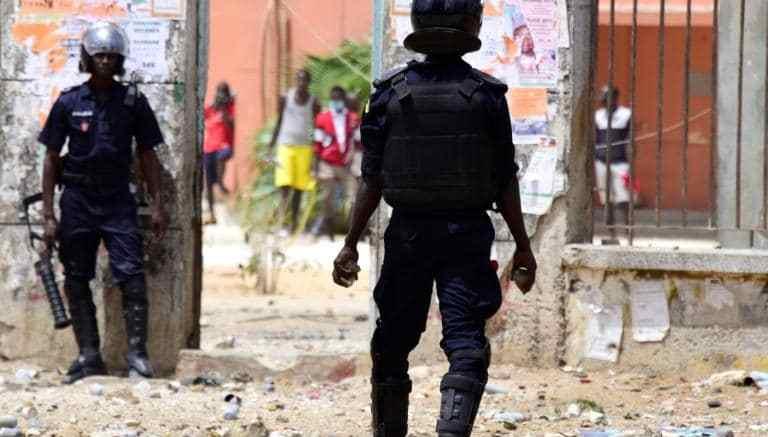 Répression des étudiants sénégalais