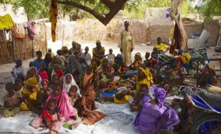 des réfugiés soudanais à Agadez