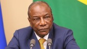 Alpha Condé, le président guinéen