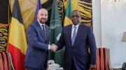 Le président du Sénégal et le Premier ministre belge