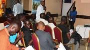 Les journalistes camerounais en formation