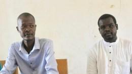 Les membres du conseil national de la jeunesse du Tchad