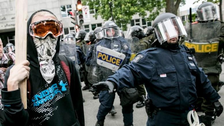 Manifestation anti G7 à Quebec